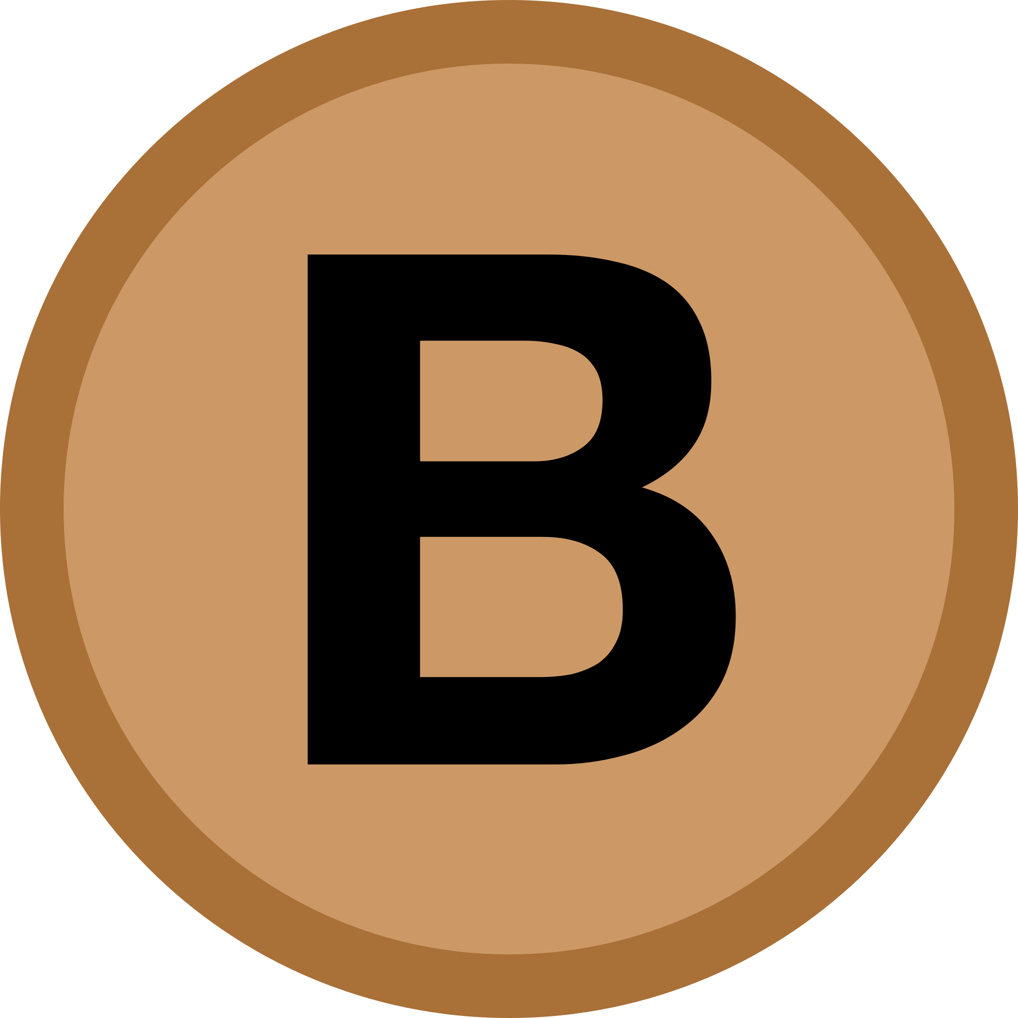 B icon representing the first letter of clients name who wrote the review.