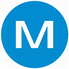 M icon representing the first letter of clients name who wrote the review.